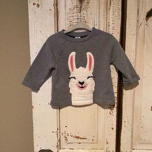 Sweet Llama sweater 6-12 Months
